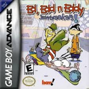 Ed, Edd n Eddy Jawbreakers! - Game Boy Advance Game