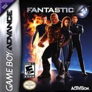 Fantastic 4 - Game Boy Advance