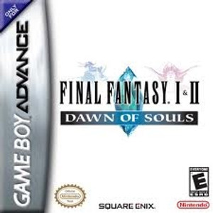 Final Fantasy I&II Dawn Of Souls - Game Boy Advance