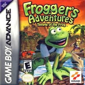Frogger's Adventure - Game Boy Advance