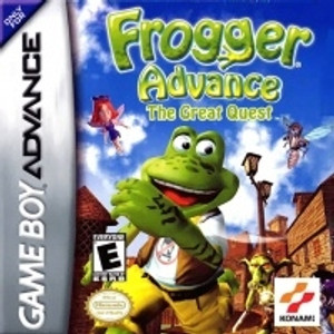 Frogger Advance - Game Boy Advance