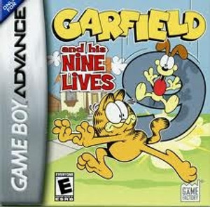 Garfield & His Nine Lives - Game Boy Advance