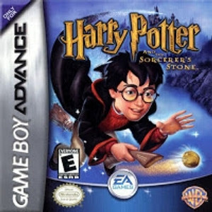 Harry Potter Sorcerers Stone - Game Boy Advance