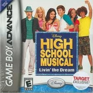 High School Musical Livin' the Dream - Game Boy Advance