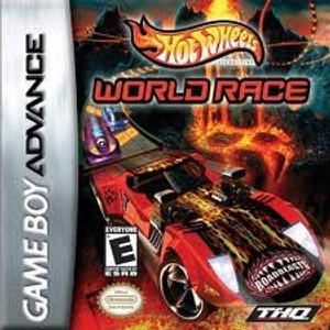 Hot Wheels World Race - Game Boy Advance