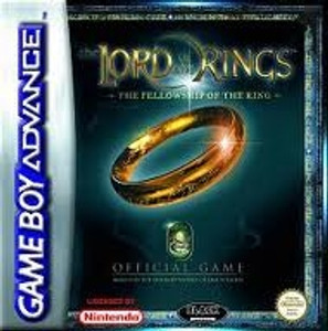 Lord of the Rings Fellowship of the Ring - Game Boy Advance