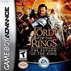 Lord of the Rings Return of the King - Game Boy Advance