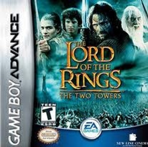 Lord of the Rings Two Towers - Game Boy Advance