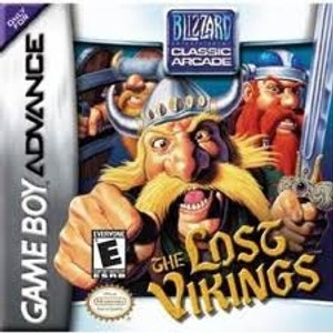 Lost Vikings - Game Boy Advance