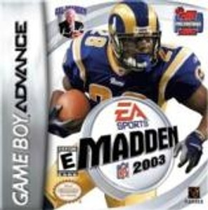 Madden 2003 - Game Boy Advance
