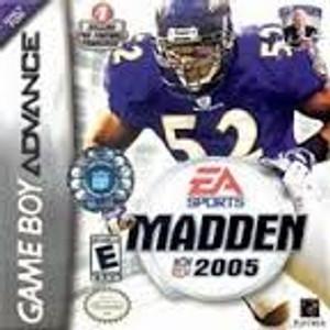 Madden 2005 - Game Boy Advance