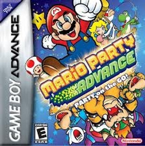 Mario Party Advance - Game Boy Advance Game