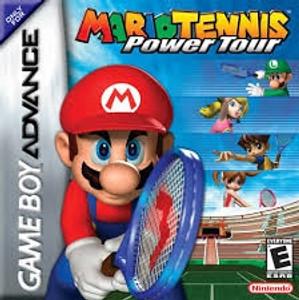 Mario Tennis Power Tour - Game Boy Advance Game