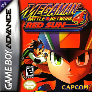 Mega Man Battle Network 4 Red Sun - Game Boy Advance