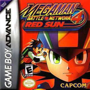 Mega Man Battle Network 4 Red Sun - Game Boy Advance