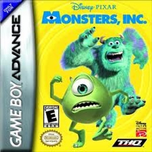 Monsters, Inc. - Game Boy Advance