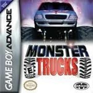 Monster Trucks- Game Boy Advance