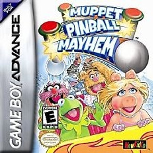 Muppet Pinball Mayhem - Game Boy Advance