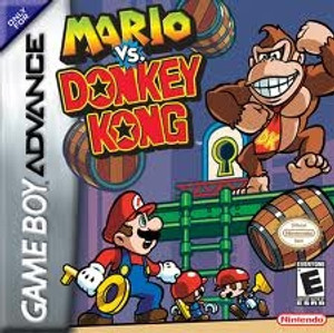 Mario Vs. Donkey Kong - Game Boy Advance