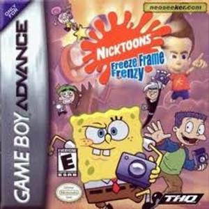 NickToons Freeze Frame Frenzy - Game Boy Advance
