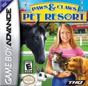 Paws & Claws Pet Resort - Game Boy Advance