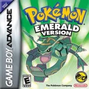 Pokemon Emerald Version - Game Boy Advance