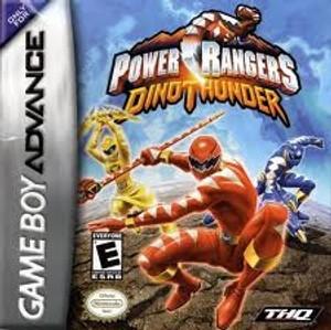 Power Rangers Dino Thunder - Game Boy Advance