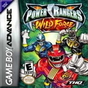 Power Rangers Wild Force - Game Boy Advance