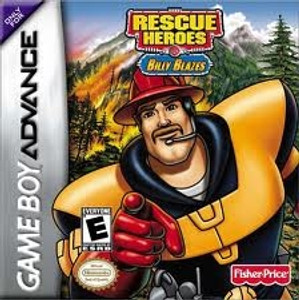 Rescue Heroes Billy Blazes - GameBoy Advance Game