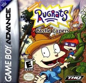Rugrats Castle Capers - Game Boy Advance