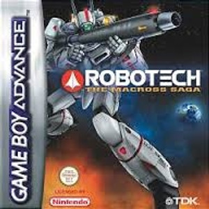 Robotech Macross Saga - GameBoy Advance Game