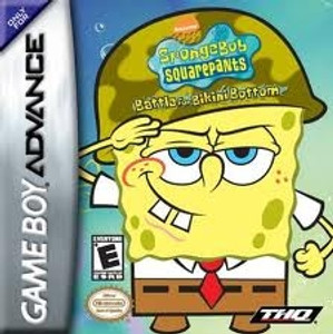 SpongeBob SquarePants Battle For Bikini Bottom - Game Boy Advance