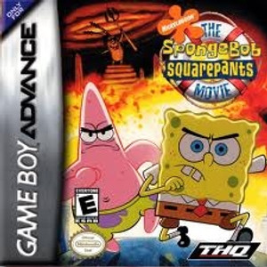 SpongeBob SquarePants The Movie - Game Boy Advance