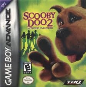 Scooby Doo 2 Monsters Unleashed - Game Boy Advance