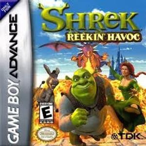 Shrek Reekin' Havok - Game Boy Advance