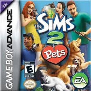 Sims 2 Pets - Game Boy Advance