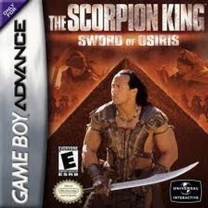 Scorpion King Sword of Osiris - GameBoy Advance Game