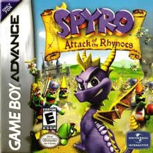Spyro Attack of the Rhynocs - Game Boy Advance