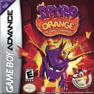 Spyro Orange Cortex Conspiracy - Game Boy Advance