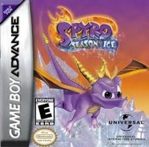 Spyro Season of Ice - Game Boy Advance