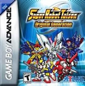 Super Robot Taisen Original Generation - Game Boy Advance