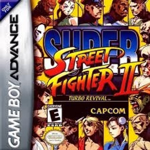 Super Steet Fighter II - Game Boy Advance
