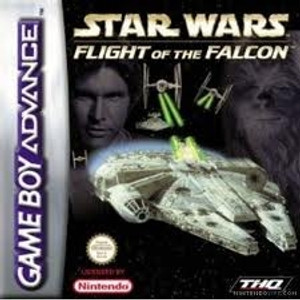 Star Wars Flight of the Falcon - Game Boy Advance