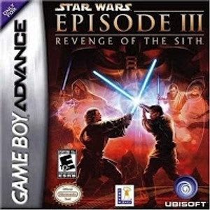 Star Wars Episode III Revenge of The Sith - Game Boy Advance