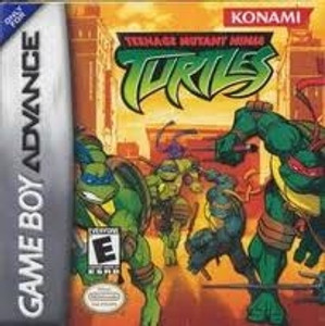 Teenage Mutant Ninja Turtles - Game Boy Advance