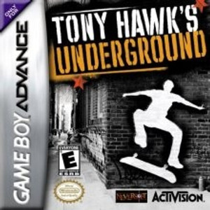 Tony Hawk's Underground - Game Boy Advance