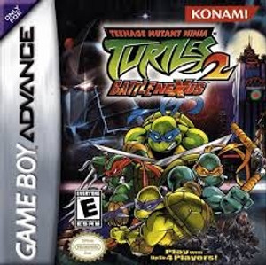 Teenage Mutant Ninja Turtles 2 - Game Boy Advance