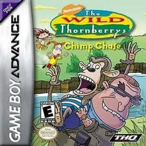 Wild Thornberrys Chimp Chase - GameBoy Advance Game