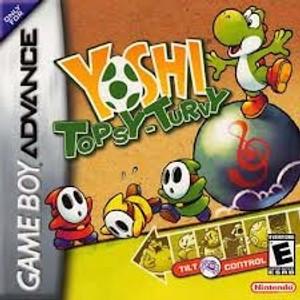 Yoshi Topsy-Turvy - Game Boy Advance