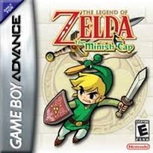 Legend of Zelda Minish Cap - Game Boy Advance